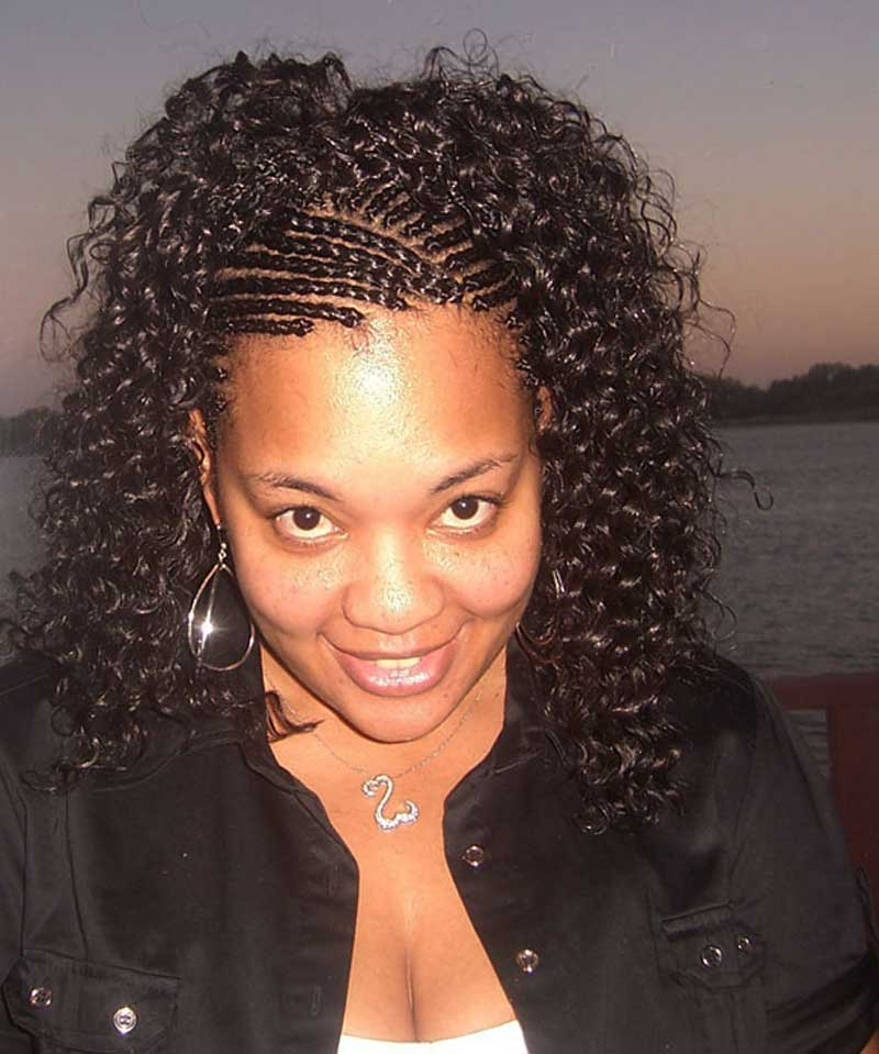 Black Hair Extensions For Braiding 109