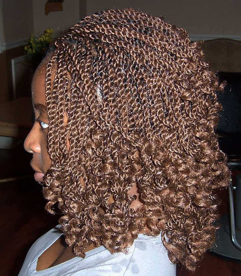 African Hair Braiding | kinky Twist braiding